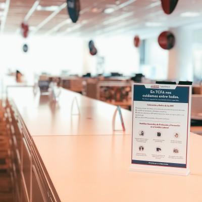 Gráfica de Protocolo en Oficinas